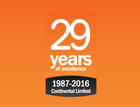 Continental Corporate Celebrate 29 years