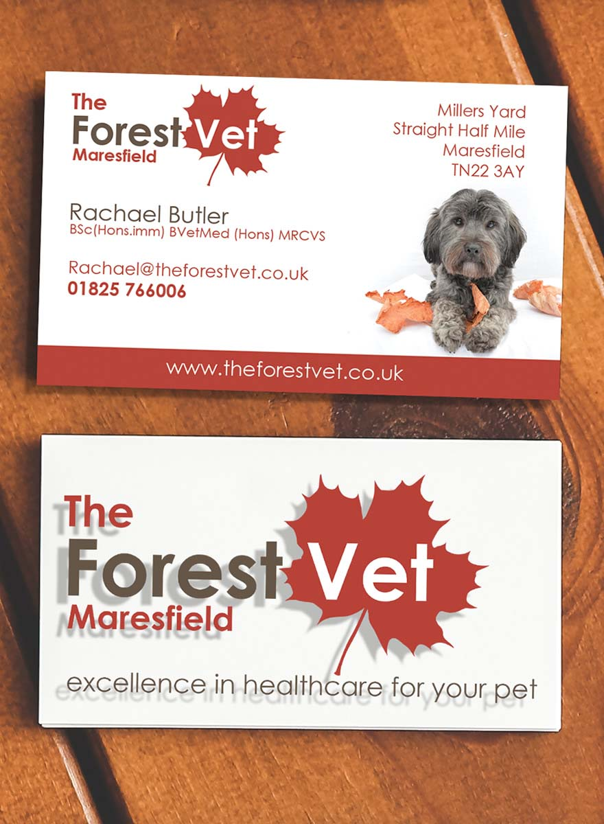 The Forest Vet Business Card