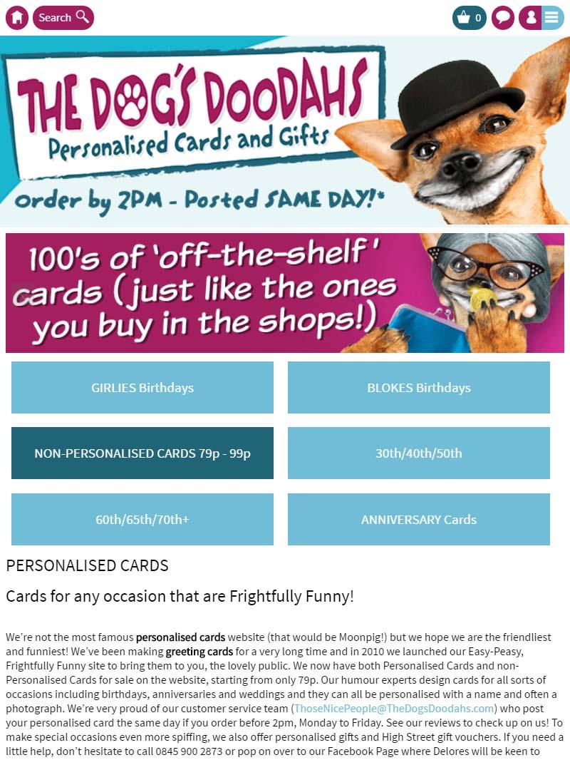 Dogs doodahs promo code