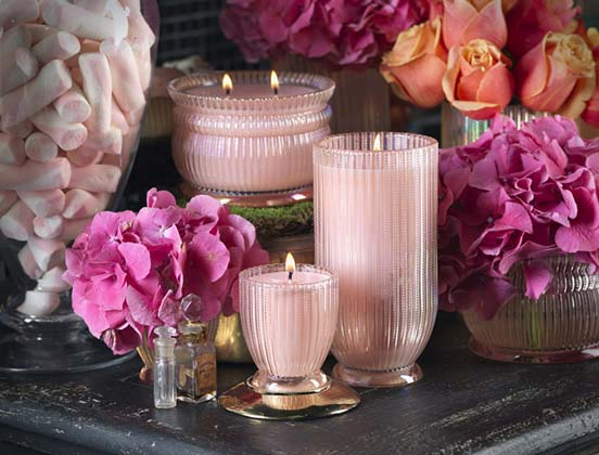 Voluspa Flower Themed Candles