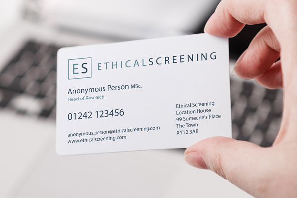 Project Image for Ethical Screening